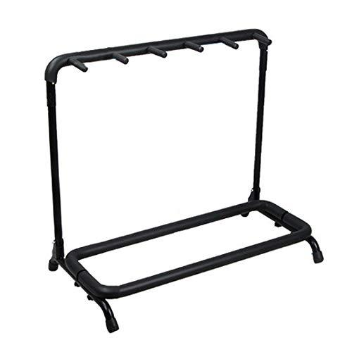F-mingnian, Gun Diaplay Accessories For 5 Slots Blaster Storage Rack Display Stand Holder For Nerf Toy Gun For Water Bomb Beads Blaster - Black (Color : Black)