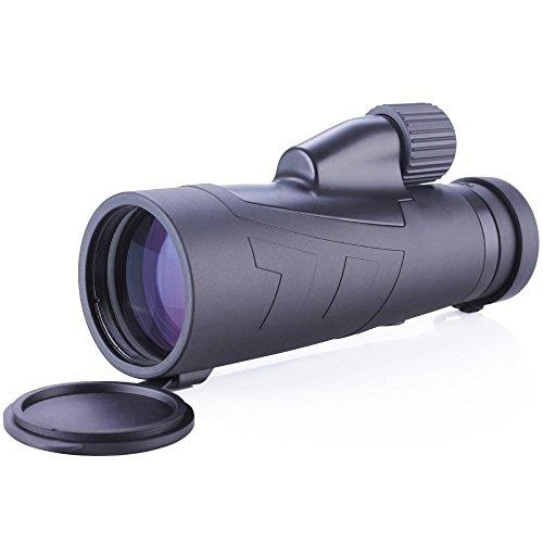 FANGDA Handheld12X50 Telescope High Powered Monocular Outdoor Camping Travel Telescope (12X50)