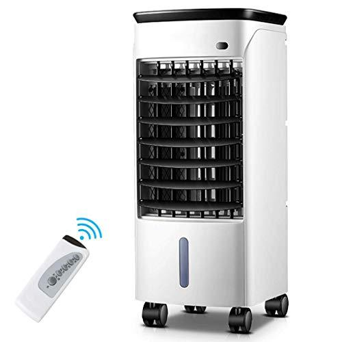 FANS Air cooler Air conditioning single cold home mobile small air conditioner (Color : Remote control)