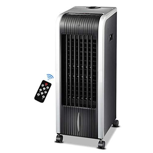 FANS Air cooler Home remote control single cold type mobile refrigerator small air conditioner (Color : A)