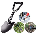 Fdhd Arms shovel folding shovel Car snow shovel Multi-function life-saving shovel Outdoor emergency shovel Driving tools