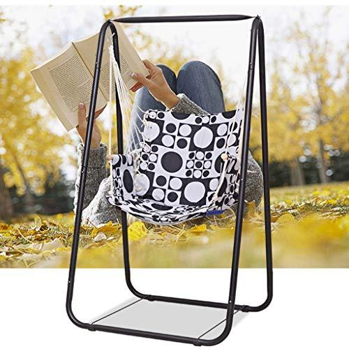 FEFEFEF Hammock rocking chair, hammock stand chair adult children hanging swing set indoor and outdoor with lanyard hammock,1