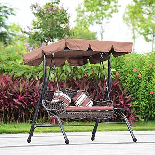 FEFEFEF Outdoor hammock garden balcony double hanging chair indoor leisure rocking chair wrought iron swing hammock hanging chair hanging basket,1