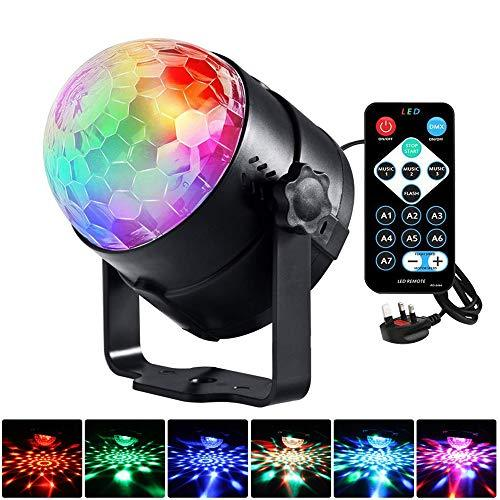 feifuns Projector Lamps LED DJ Stage Light Colorful Neon Light Color For KTV Xmas Party Wedding Show Club Pub Color Changing Lighting Strobe Lights (Club Stage Lights)