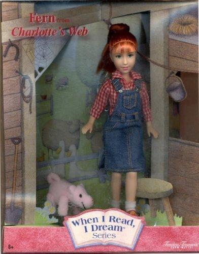 Fern doll from Charlotte's Web collector doll - When I Read, I Dream Series by Mattel