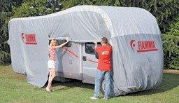 Fiamma Cover Premium L up to 8m Motorhome Winter Protection Heavy Duty 05602-01-