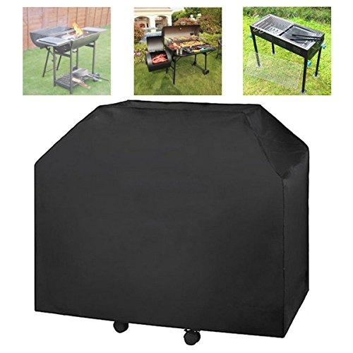 Ficony Heavy Duty BBQ Grill Gas Barbecue Waterproof Cover Outdoor Rain Protector(72.05 x 25.98 x 51.18 inches)- Black Protector