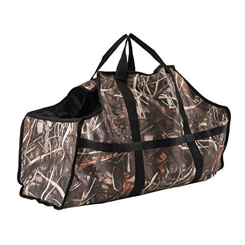 Firewood Log Carrier Durable Heavy Duty Canvas Firewood Tote Bag Fireplace Wood Stove Accessories