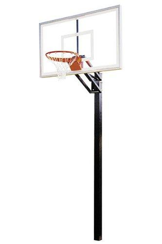First Team Champ Select In-Ground Basketball Hoop with 60 Inch Acrylic Backboard