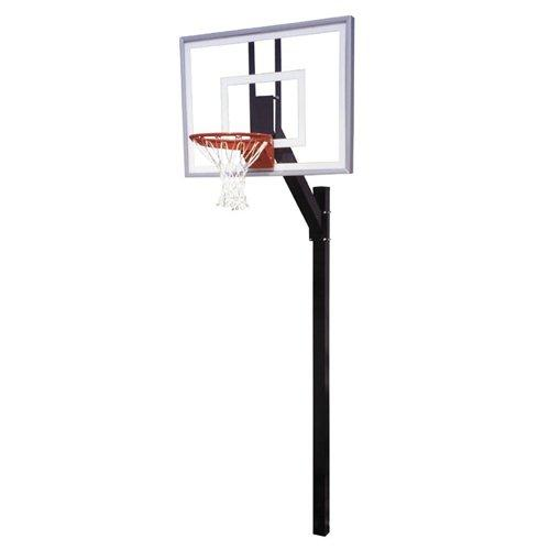 First Team Legacy III In-Ground Basketball Hoop with 54 Inch Acrylic Backboard