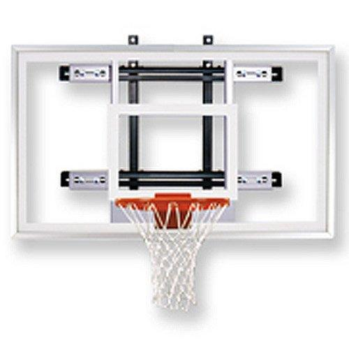 First Team Powermount Select Wall-Mounted Basketball Hoop with 60 Inch Acrylic Backboard