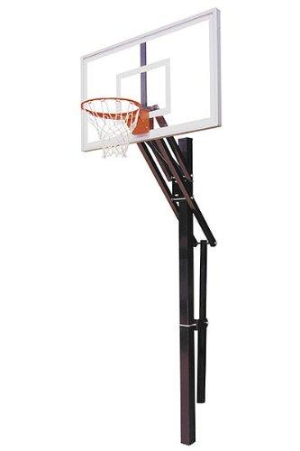 First Team Slam Select In-Ground Basketball Hoop with 60 Inch Acrylic Backboard