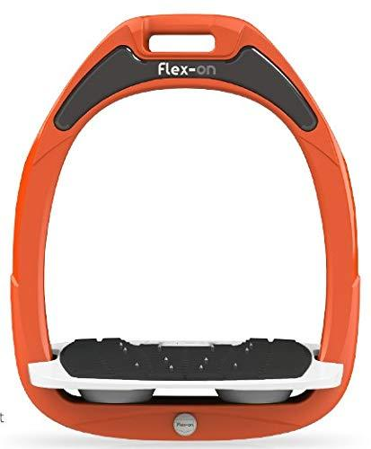 Flex on GAMME Safe-ON Mixed Ultra-Grip Frame Orange Footbed Color: White ELASTOMERS: Gray, Grey