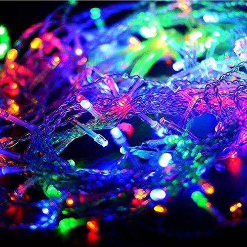 flexible cooper wire flexible fairy led string christmas lights 100 leds 33ft10 m starry