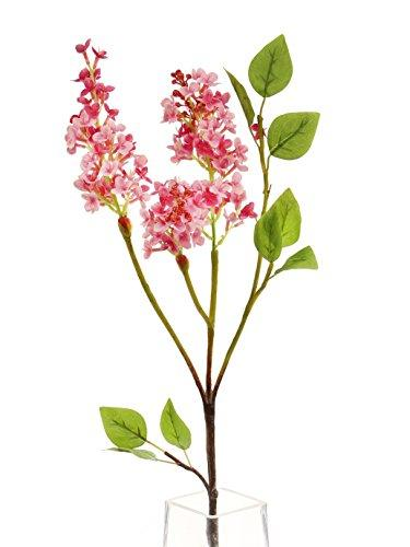Floral Elegance Artificial 76cm Single Stem Pink Lilac Blossom Flowers x 6