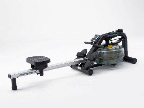 FluidRower Neptune Rowing Machine Rower AR Black, FDF NCAR