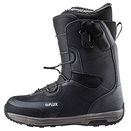 Flux Bindings Gto-Speed Mens Snowboard Boots 2017/18 Model, Black, 6.5