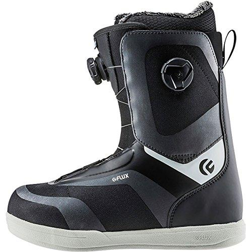 Flux Bindings Gtx-Lace Mens Snowboard Boot 2017/18 Model, Black, 11.5