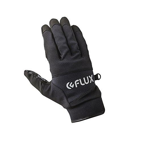 Flux Bindings Pipe Snowboard / ski Gloves 2017/18 Model, Black, Large