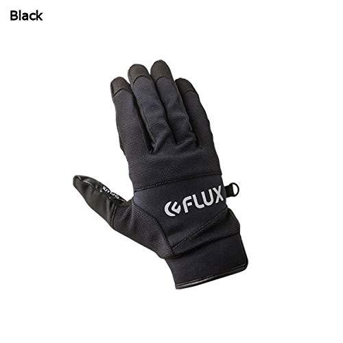 Flux Bindings Pipe Snowboard / ski Gloves 2017/18 Model, Black, Small