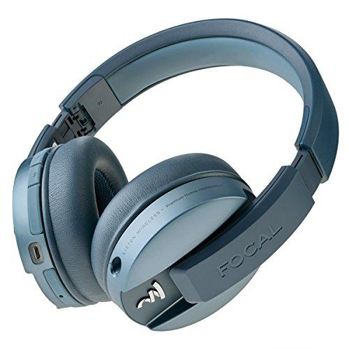 Focal Listen Wireless Over-Ear Headphones with Microphone (Blue)