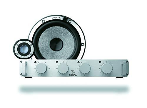 Focal Utopia Be 2-VOIES Round No. 6/Active Speaker with Car Kit - Car speakers (2-VOIES, 4 Ohm, 36 dB, 16.5 cm, 2.5 cm)