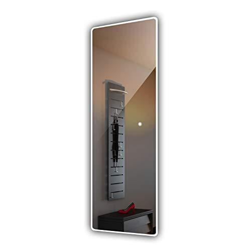FORAM 700 x 1800 mm LED illuminated Mirror for Bathroom, Wardrobe, Hallway, Bedroom, Corridor with Light Switch - Warm/Cold White L59
