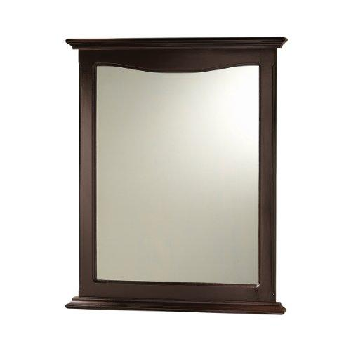 Foremost PAEM2531 Palermo Wall Mirror, 64cm . Cherry