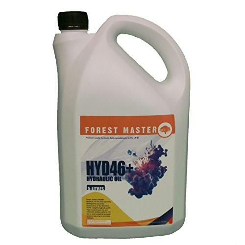 FOREST MASTER HYDRAULIC FLUID FOR ELECTRIC HYDRALIC LOG SPLITTERS ISO 46 OIL 1 & 5 LITRES (5)