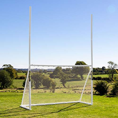 FORZA Gaelic Football & Hurling Goal Posts | Three Weatherproof Net And Frame