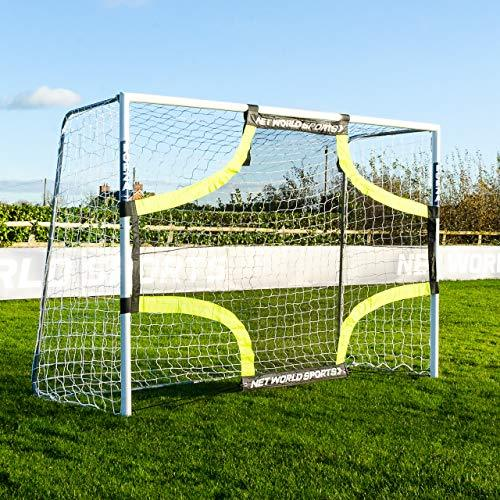 FORZA Pro Football Goal Target Sheets - Four Corner Shooting Targets (3m x 2m)