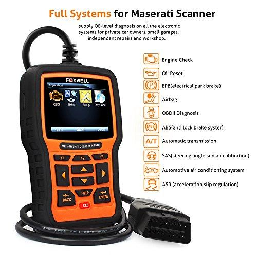 FOXWELL Obdspace NT510 Full-System Diagnostic Scan Tool for Bmw