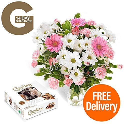 Free DELIVERY!!!- Pretty in Pink Bouquet just Makes The Perfect Gift for Any Occasion and Comes with Free Chocolates!!