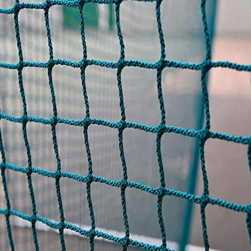 Free Hanging Hockey Goal Nets - Green & Blue - Single or Pair [Net World Sports] (Green, Single)