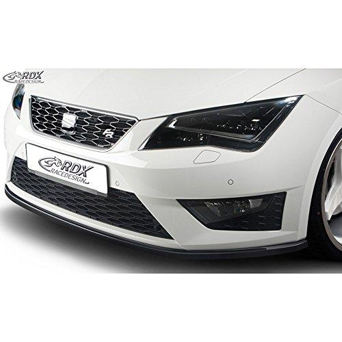 Front spoiler Seat Leon 5F SC/5-doors/ST FR/Cupra 2013- (ABS glossy black)
