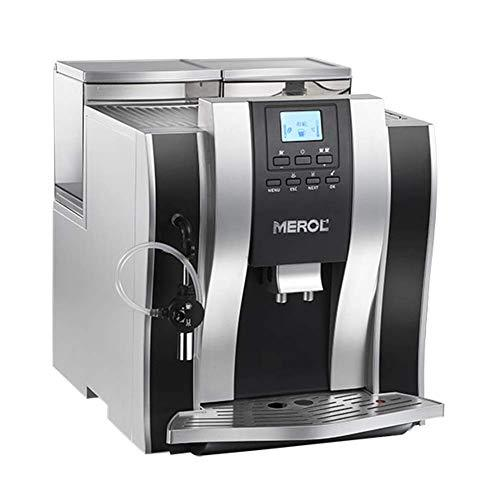 Fully Automatic Coffee Machine Home Steam Commercial Coffee Grinder,Silver