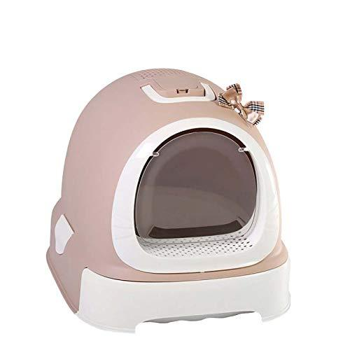 Fully enclosed litter box feces outside the cat toilet bowl deodorant anti-splash Cat Accessories