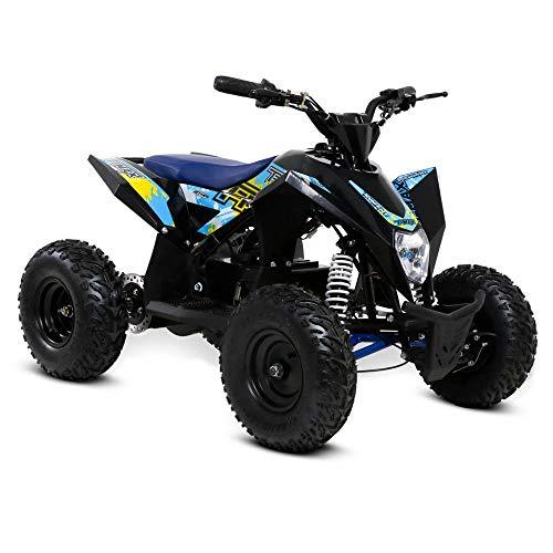 Funbikes T-Max Roughrider 1000w Electric Kids Quad Bike Battery (Blue)