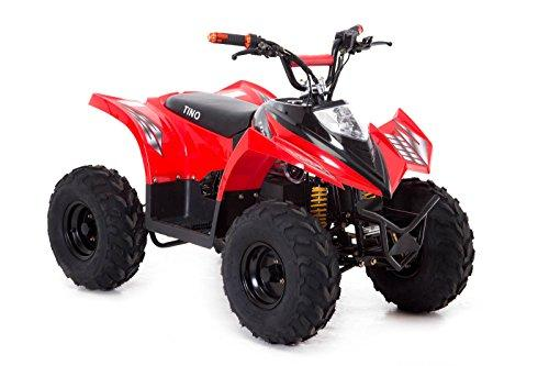 Funbikes Tino Rally 750w Red Electric Childs Quad Bike (Red)