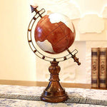 Furniture decoration European American Model Room Study Bookcase Globe Ornaments Crafts