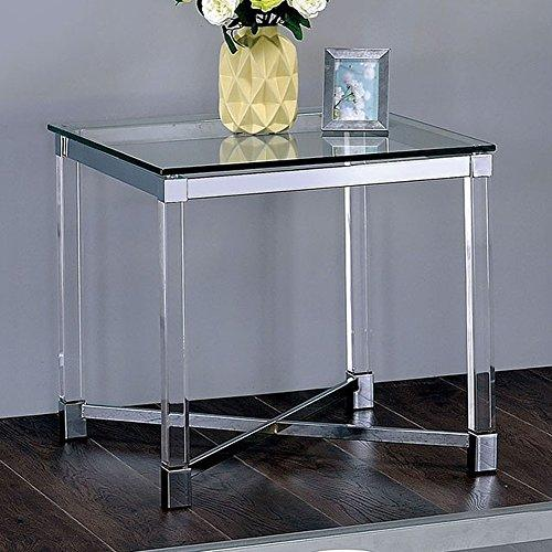 Furniture of America End/Side/Nesting Tables, Silver
