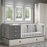 Furniture ROS Baby Cot - 98.6 x 203.8 x 104.6 cm