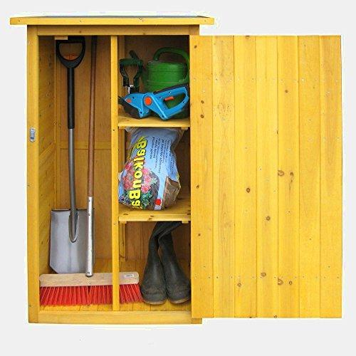 Garden Storage Cupboard Wooden Shed Flooring Roof Outdoor Outside External Roofing Organiser Plastic Large Garage Utility Heavy Duty Furniture Lockable Tool &E Book