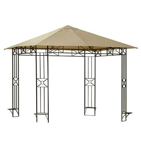 Garden Winds Replacement Canopy for the Cola Gazebo Rip Lock 350