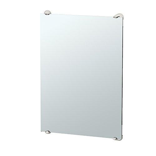 "Gatco 1593 Brie Minimalist Bathroom Fixed Mounted Mirror, 30"", Satin Nickel"
