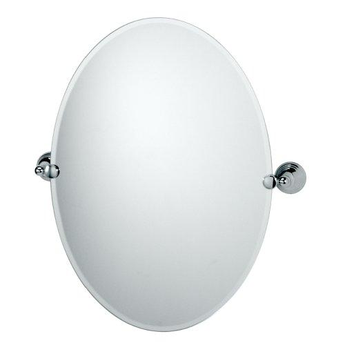 Gatco 4359 Charlotte Oval Wall Mirror, Chrome