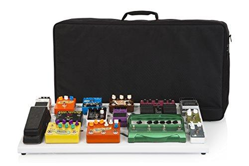 "Gator GPB-XBAK-WH Cases Aluminum Pedal Board with Carry Bag, 32"" x 17"", (GPB-XBAK-1), XL, White"