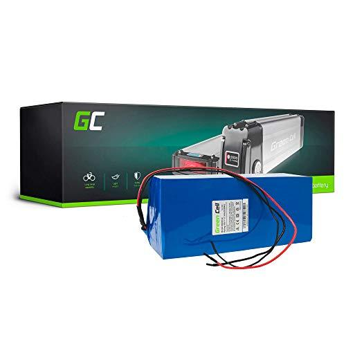 GC® E-BIKE Battery 36V 14.5Ah Electric Bicycle Bike Battery Pack with Li-Ion Panasonic Cells Addmotor Cyclamatic Blue Wheel