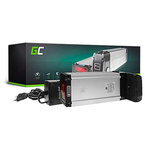 GC® E-BIKE Battery 36V 20.3Ah Accumulator Pedelec Rear Rack with Charger and Li-Ion Panasonic Cells Motor Kwikfold LYNX Chita Flight