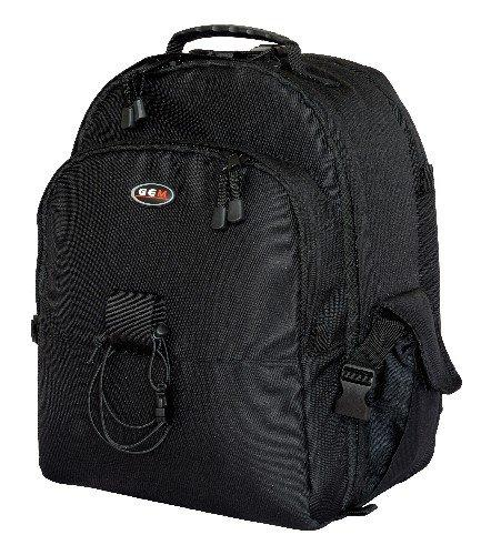 GEM Photo Backpack with Waterproof Cover, Holds 1-2 SLRs, 4-6 Lenses Plus Notebook / Laptop up to 15.4